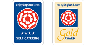 4 star self catering and Gold Award