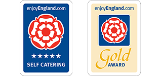 5 star self catering and Gold Award